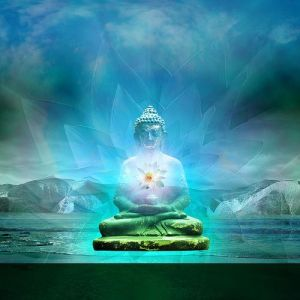 Buddha-within-Lotus-Light
